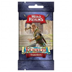 Hero Realms Deckbuilding Game: Journeys - Travellers Expansion Board Game