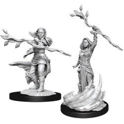 D&D Nolzur's Marvelous Miniatures: Wave 14 Female Human Druid в D&D и други RPG / D&D Миниатюри