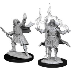 WizKids Pathfinder Battles Deep Cuts Unpainted Miniatures: Wave 14 Male Elf Sorcerer in D&D Miniatures