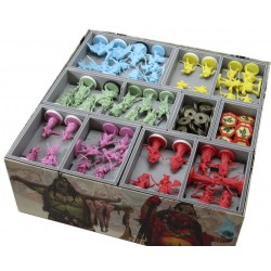Folded Space: Rising Sun Organiser in Box organizers