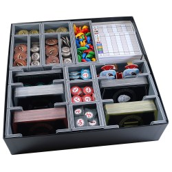 Folded Space: 7 Wonders 2nd Edition + Expansions Organiser in Box organizers
