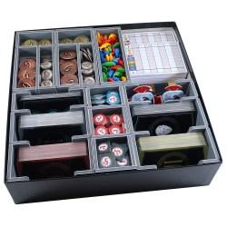 Folded Space: 7 Wonders 2nd Edition + Expansions Organiser в Инсърти за кутии
