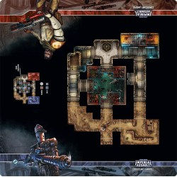 Star Wars: Imperial Assault – Coruscant Landfill Skirmish Map Board Game