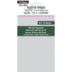"""Протектори за карти Sleeve Kings """"WOTR-Tarot"""" Card Sleeves (70x120mm) 110 Pack, 60 Microns в Tarot Size (70x120 мм)"""