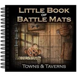 "Loke Battle Mats: The Little Book of Battle Mats - Towns & Taverns Edition (6x6"", 40 pages) в D&D и други RPG / D&D / Pathfinder терен"
