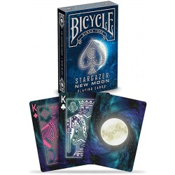 Bicycle Star Gazer - New Moon - Playing Card Deck in Playing cards