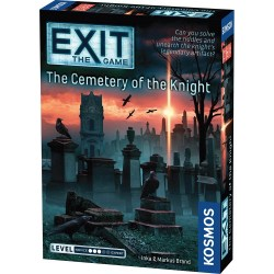 "Exit: The Game - The Cemetery of the Knight (2020) - ""escape room"" настолна игра"