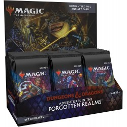 MTG: D&D Adventures in the Forgotten Realms Set Booster Display Box (30) Board Game