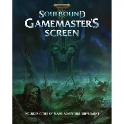 Warhammer Age of Sigmar: Soulbound RPG Game Master Screen в D&D и други RPG / Други RPG
