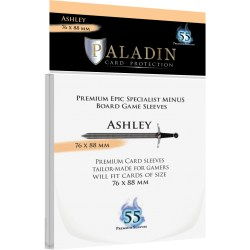 Paladin Sleeves - Ashley Premium Epic Specialist Minus (76x88mm) 55 Pack, 90 Microns in Other Sleeves