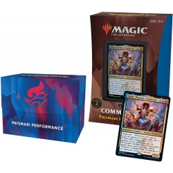 MTG: Strixhaven: School of Mages Commander Deck (Commander 2021) - Prismari Performance (UR) Board Game