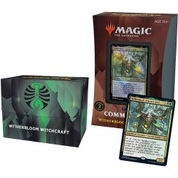 MTG: Strixhaven: School of Mages Commander Deck (Commander 2021) - Witherbloom Witchcraft (BG) Board Game