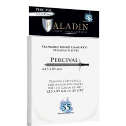 Протектори за карти Paladin Sleeves - Percival Premium Standard Board Game/CCG (63.5x89mm) 55 Pack, 90 Microns в LCG, 63.5x88 мм)