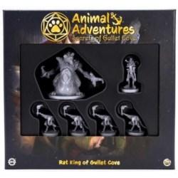 Animal Adventures RPG - Rat King of Gullet Cove Miniature Set (2021) в D&D и други RPG / Други RPG