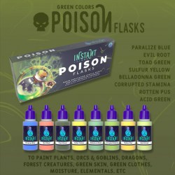 Scale75 Instant Colors Set - Poison Flasks в Акрилни бои Scale75