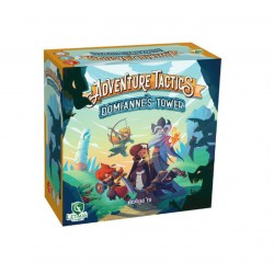 Adventure Tactics: Domianne's Tower + Hero Pack Expansion 1Bundle (2020) Board Game