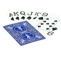 Bicycle Prestige 100% Plastic Playing Card Deck - Blue Raider Back in Playing cards