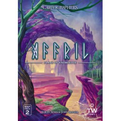 (Pre-order) Cartographers Map Pack 2: Affril – Plane of Knowledge Expansion (2021) - разширение за Cartographers: A Roll Player Tale и Cartographers Heroes