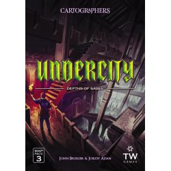 (Pre-order) Cartographers Map Pack 3: Undercity – Depths of Sabek (2021) - разширение за Cartographers: A Roll Player Tale и Cartographers Heroes