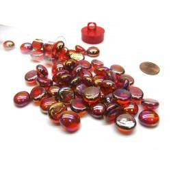 Chessex: Iridized Crystal Red Gaming Stones (40) в Аксесоари