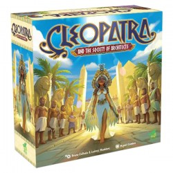 Cleopatra and the Society of Architects: Deluxe Edition (Retail Edition, 2020) - настолна игра