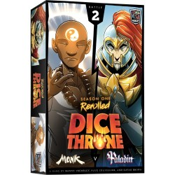 Dice Throne: Season One ReRolled Box 2 – Monk vs Paladin (2020) - настолна игра