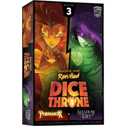 Dice Throne: Season One ReRolled Box 3 – Pyromancer vs Shadow Thief (2020) - настолна игра