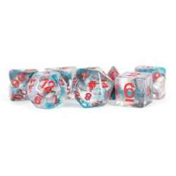 Комплект D&D зарове: Unicorn Resin Polyhedral Dice Set Battle Wounds в D&D и други RPG / D&D Зарове