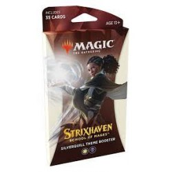 MTG: Strixhaven: School of Mages Theme Booster - Silverquill (1) Board Game