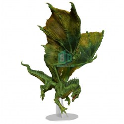 Dungeons & Dragons Fantasy Miniatures: Icons of the Realms - Adult Green Dragon Premium Figure в D&D и други RPG / D&D Миниатюри / Icons of the Realms