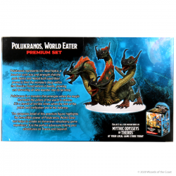Dungeons & Dragons Fantasy Miniatures: Icons of the Realms Set 16 - Mythic Odysseys Of Theros Premium Set: Polukranos в D&D и други RPG / D&D Миниатюри