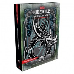 Dungeons & Dragons RPG 5th Edition: Dungeon Tiles Reincarnated - City в D&D и други RPG / D&D карти и аксесоари