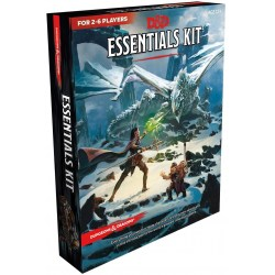 Dungeons & Dragons RPG 5th Edition: RPG Essentials Kit в D&D и други RPG / D&D 5th Edition / D&D стартови к-ти