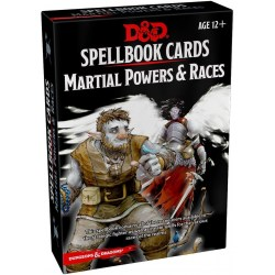 Dungeons & Dragons RPG 5th Edition: Spellbook Cards - Martial Powers and Races Deck (61 Cards) в D&D и други RPG / D&D карти и аксесоари