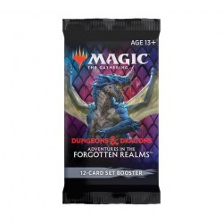 MTG: D&D Adventures in the Forgotten Realms Set Booster (1) Board Game