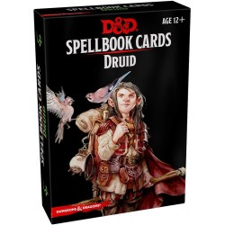 Dungeons & Dragons RPG 5th Edition: Spellbook Cards - Druid Spell Deck (131 Cards) in D&D Cards & Accessories