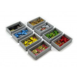 Folded Space: Lords of Waterdeep + Scoundrels of Skullport Expansion Organiser in Box organizers
