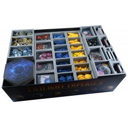 Folded Space: Twilight Imperium 4th Edition - Prophecy of Kings Organiser в Инсърти за кутии