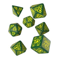 Комплект зарове: Pathfinder Second Edition - Strange Aeons Polyhedral 7 Dice Set в D&D и други RPG / D&D Зарове