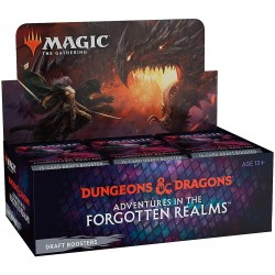MTG: D&D Adventures in the Forgotten Realms Draft Booster Display Box (36) Board Game