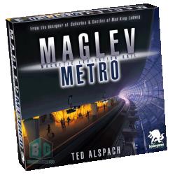 Maglev Metro (2020) - настолна игра