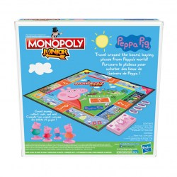 Monopoly Junior: Peppa the Pig Edition Board Game