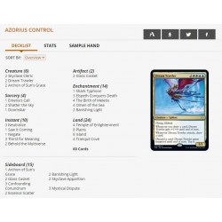 MTG: Challenger 2021 Azorius Control in Magic: the Gathering