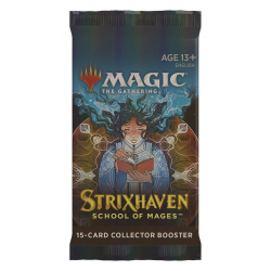 MTG: Strixhaven: School of Mages Collector Booster Pack (1) в Magic: the Gathering