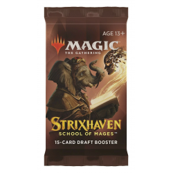 MTG: Strixhaven: School of Mages Draft Booster Pack (1) в Magic: the Gathering