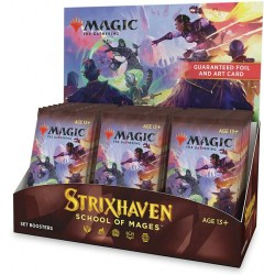 MTG: Strixhaven: School of Mages Set Booster Display Box (30) in Magic: the Gathering