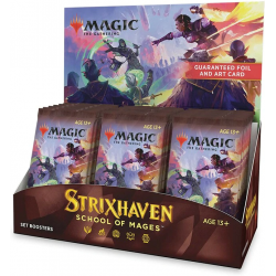MTG: Strixhaven: School of Mages Set Booster Display Box (30) в Magic: the Gathering