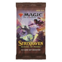 MTG: Strixhaven: School of Mages Set Booster Pack (1) в Magic: the Gathering