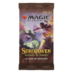 MTG: Strixhaven: School of Mages Set Booster Pack (1) в Magic: the Gathering