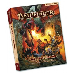Pathfinder RPG 2nd Edition: P2 Core Rulebook Pocket Edition (Softcover, 2020) in Pathfinder 2nd Edition Books